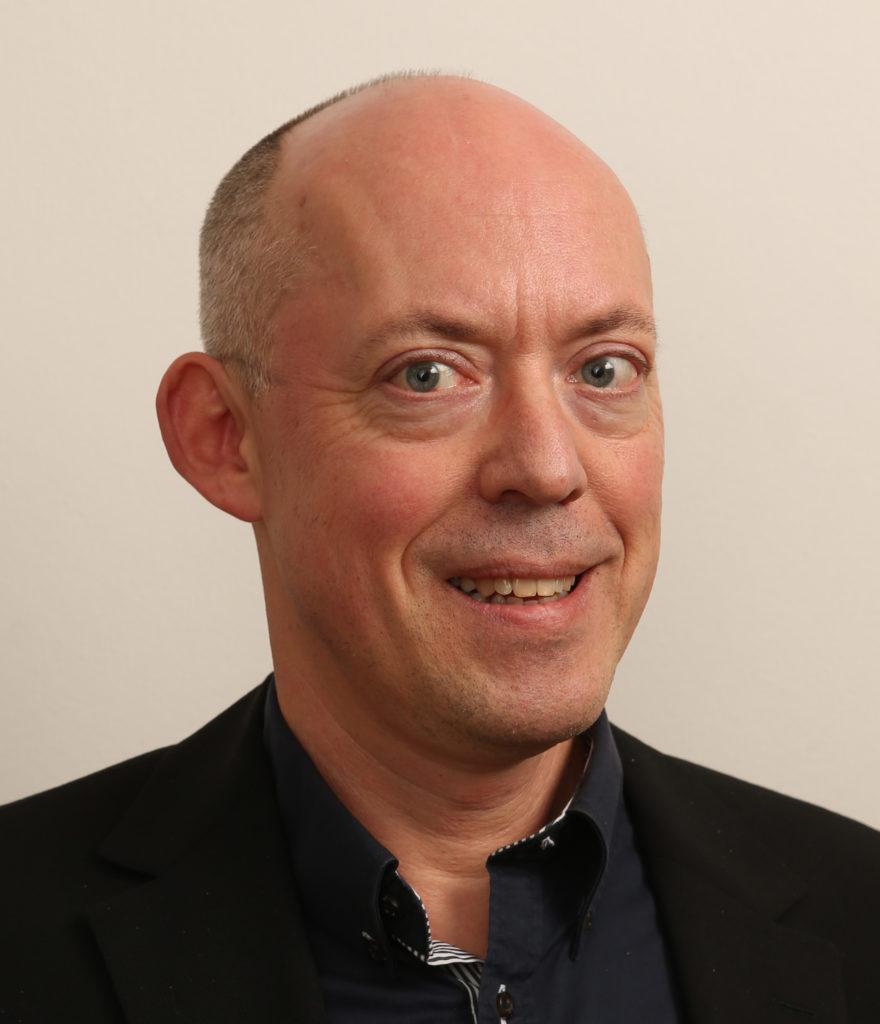 En gång i tiden ledande dataexpert. Michael Hooper jobbade med datorer redan på 1980-talet.